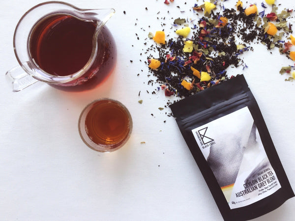 [Black Label] Ceylon Black Tea Australian Grey Blend   40g - Taste Kaleidoscope
