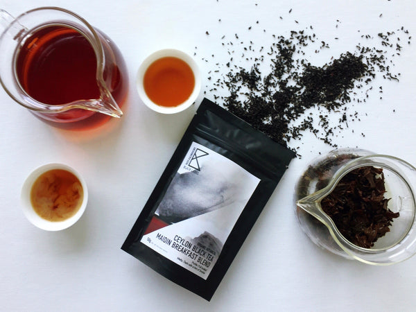 [Black Label] Ceylon Black Tea Maidin Breakfast Blend   50g - Taste Kaleidoscope