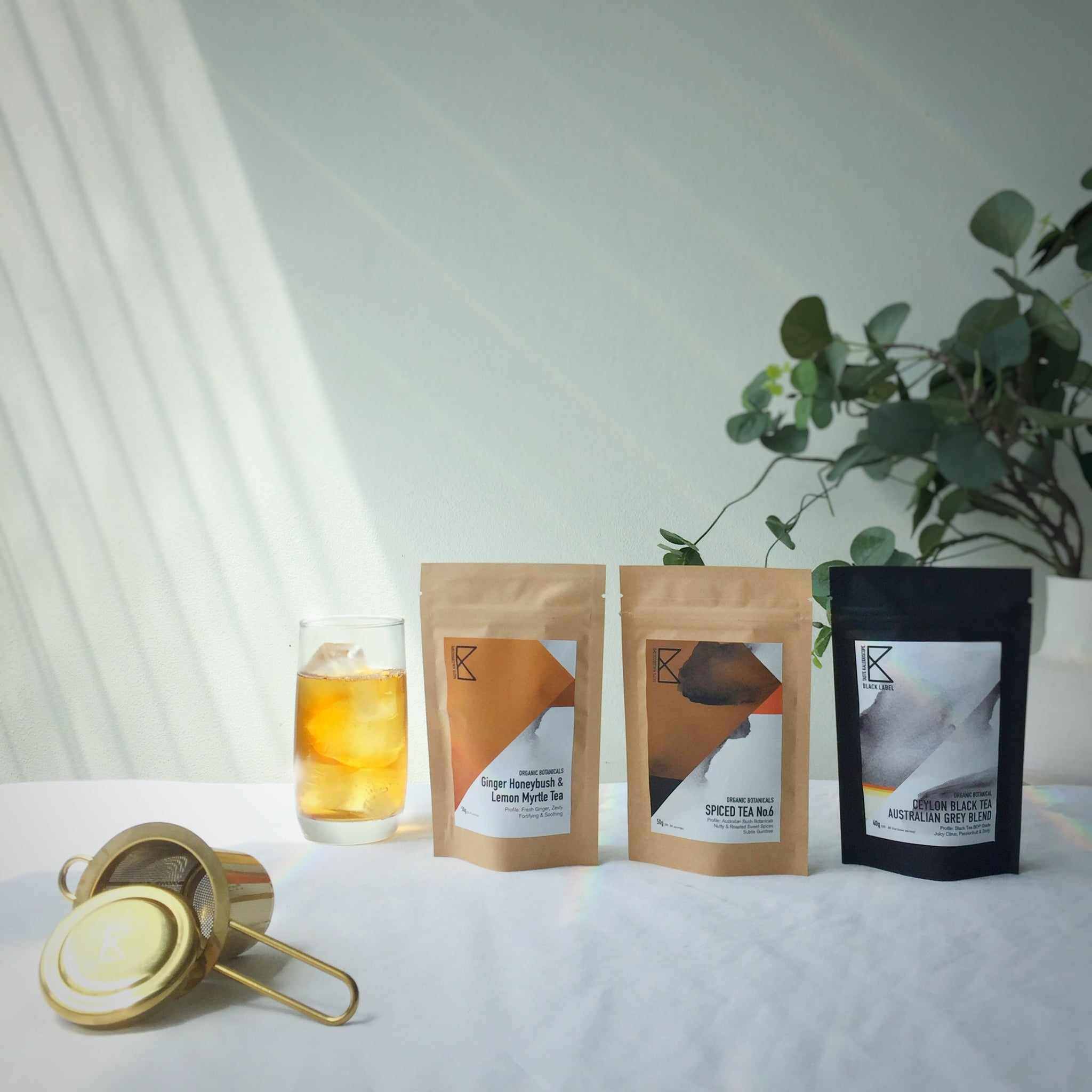 Australiana Gift Set [3 Teas with Australian Botanicals + Infuser]