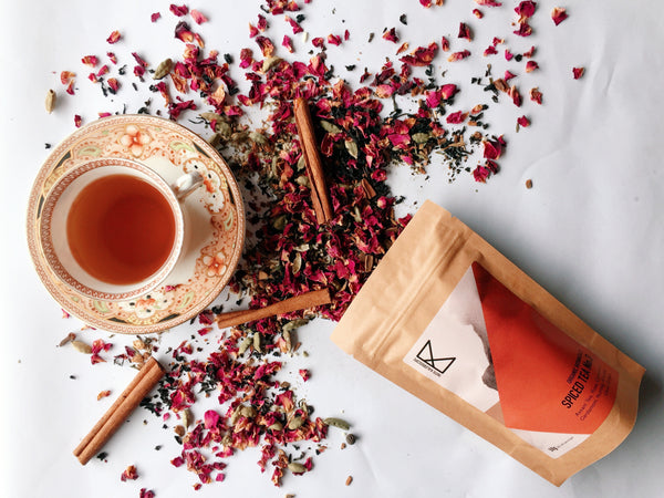 Spiced Tea No. 3 - Persian Rose  50g  [with Assam Tea,  Red Rose & Sweet Spices] - Taste Kaleidoscope