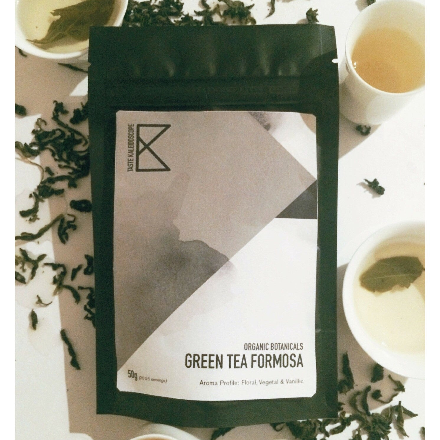 [Black label] Organic Green Tea Foremosa 30g - Taste Kaleidoscope