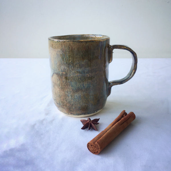Handmade ceramic mug. Relique and Moss