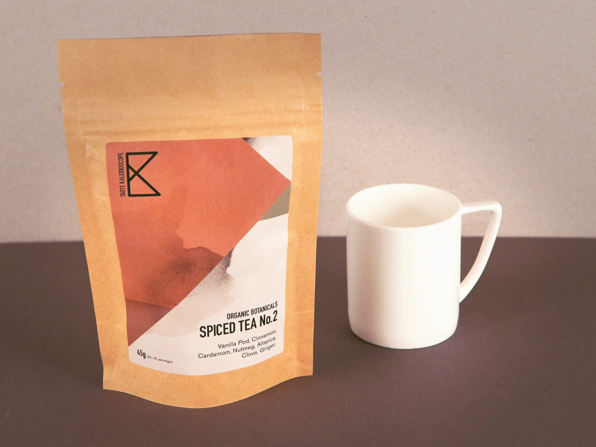DISCONTINUED UNTIL FURTHER NOTICE Spiced Tea No. 2 - Créme  45g [with Vanilla Pods] - Taste Kaleidoscope