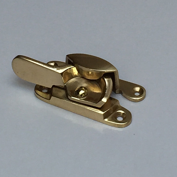 Fitch Fastener Polished Brass Finish