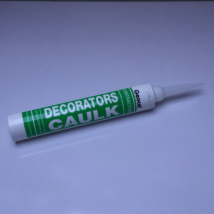Geocel contractors decorators caulk - White 380ml