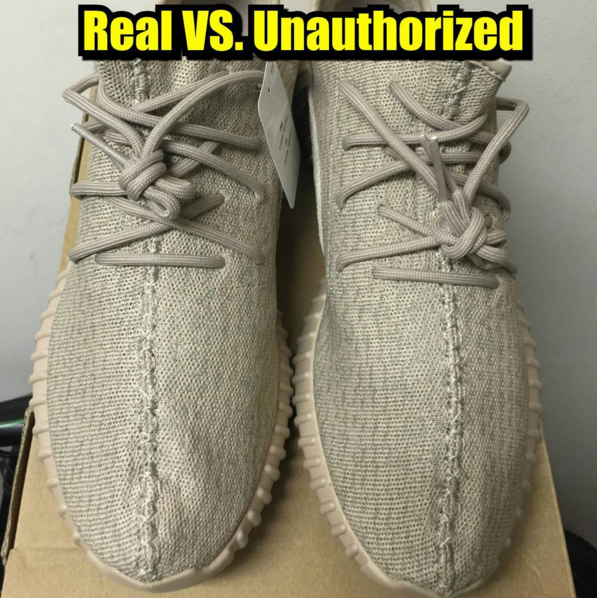 Yeezys Fake Vs Real