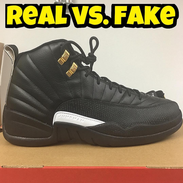 new product d9c70 ff98e Real Vs. Fake - Jordan 12