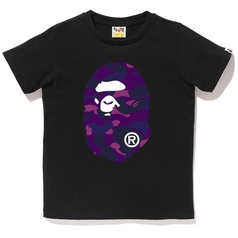 Big Ape Head Tee (Black/Purple)