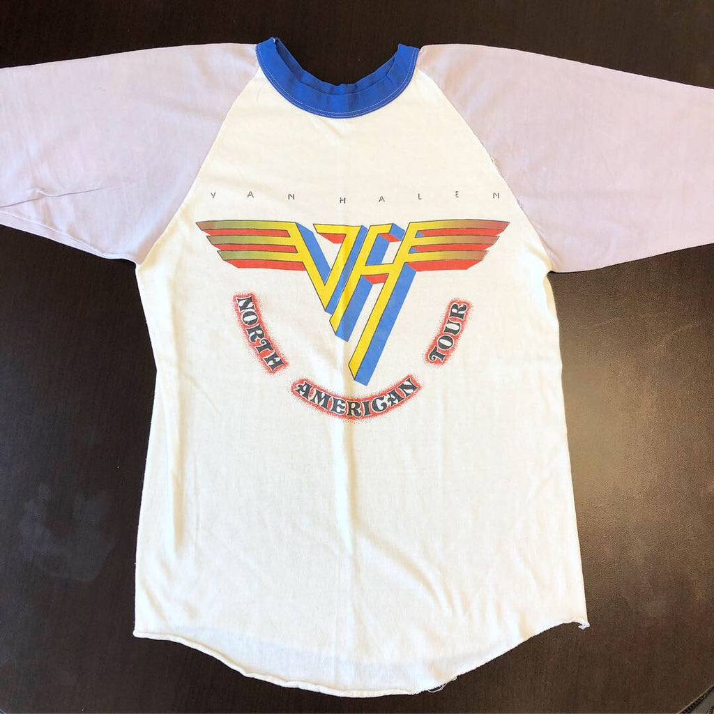 Van Halen Vintage Tour Merch