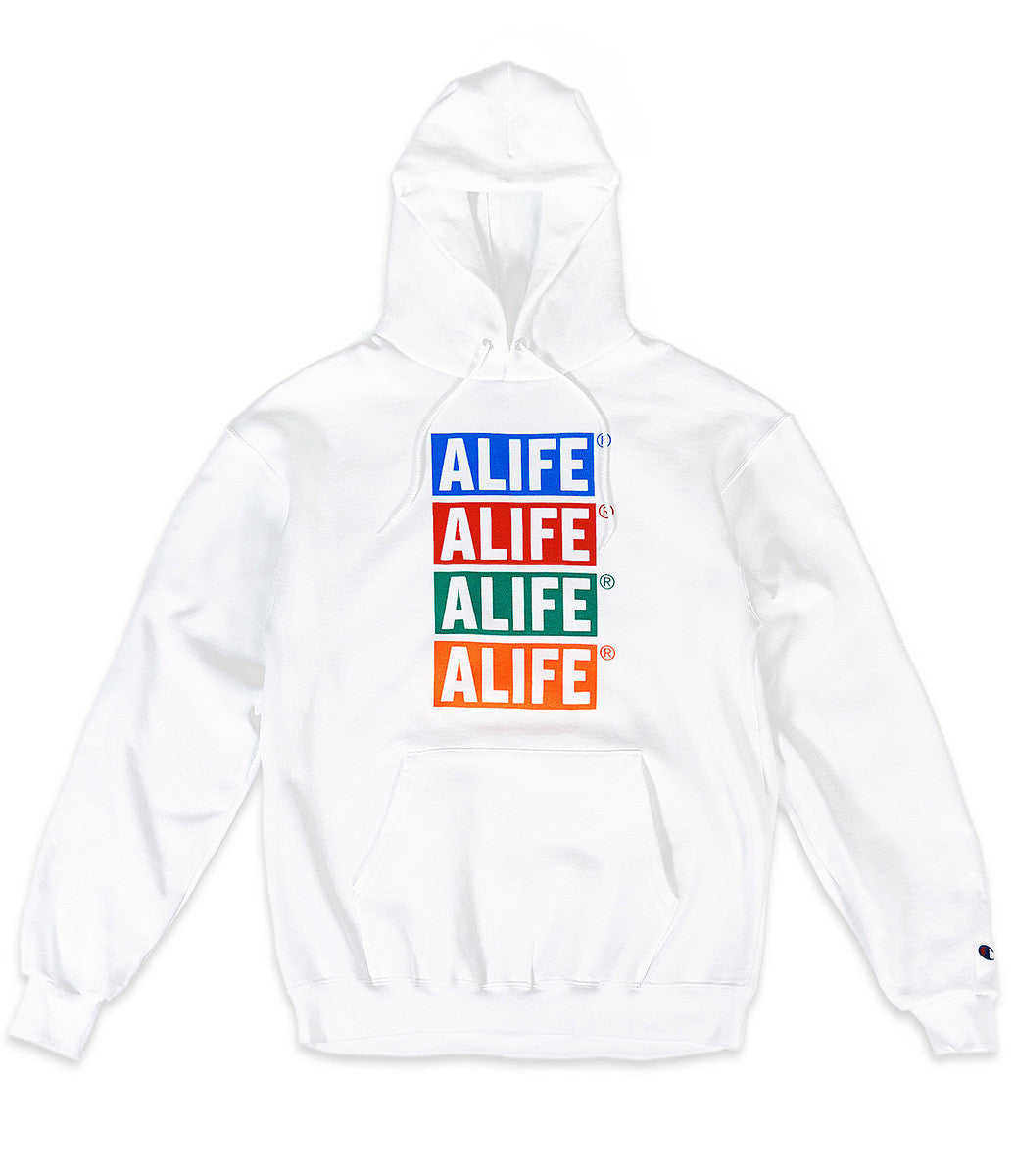 Alife x Champion Stacked Hoodie