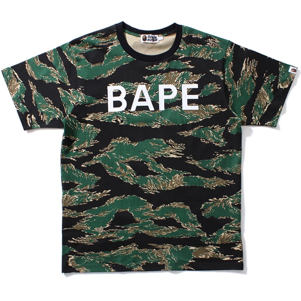 Bape Tiger Camo Full Tee