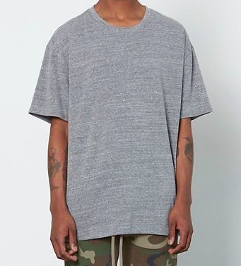 Fear Of God x Pacsun Oversized Gray Tee