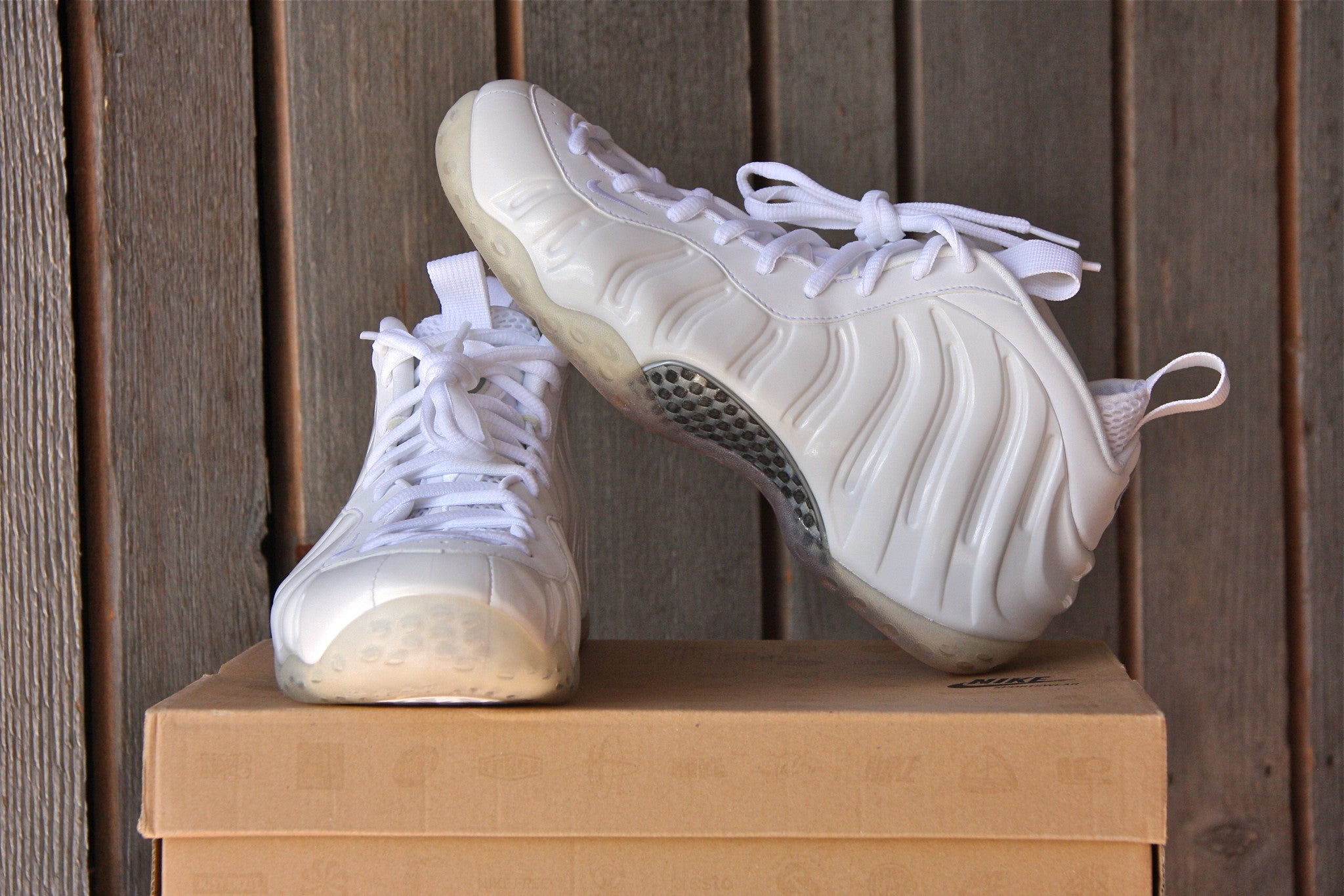 Nike Foamposite One (Whiteout)