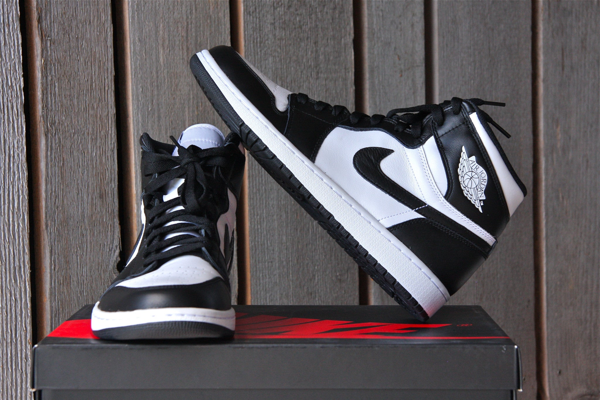 Air Jordan 1 Retro OG High (Black & White)
