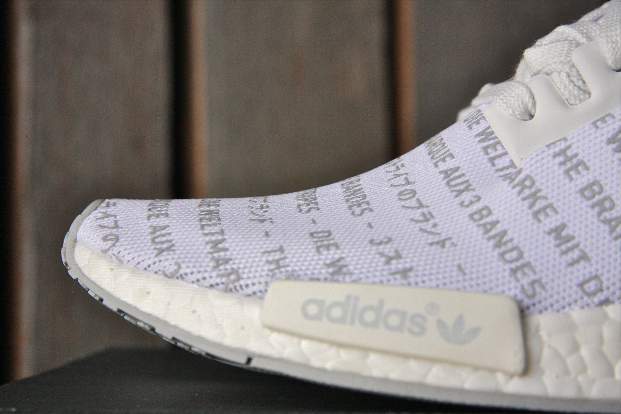 Adidas NMD R1 (Whiteout)