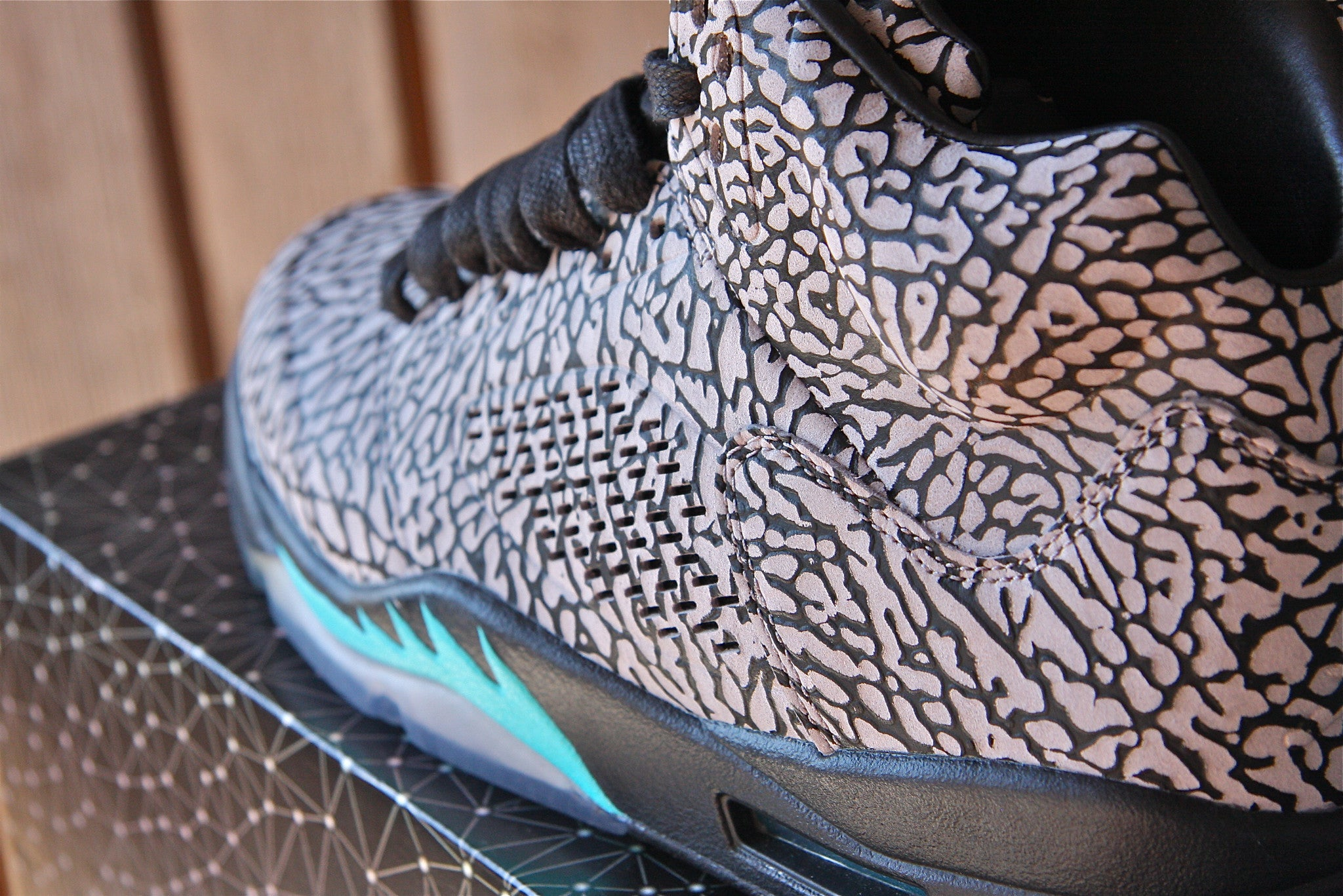 Air Jordan 5 Retro 3Lab 5 (Elephant Print)