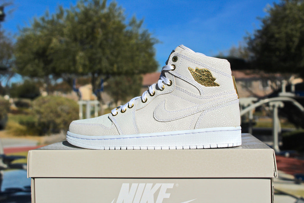 Air Jordan 1 Retro OG High Pinnacle White