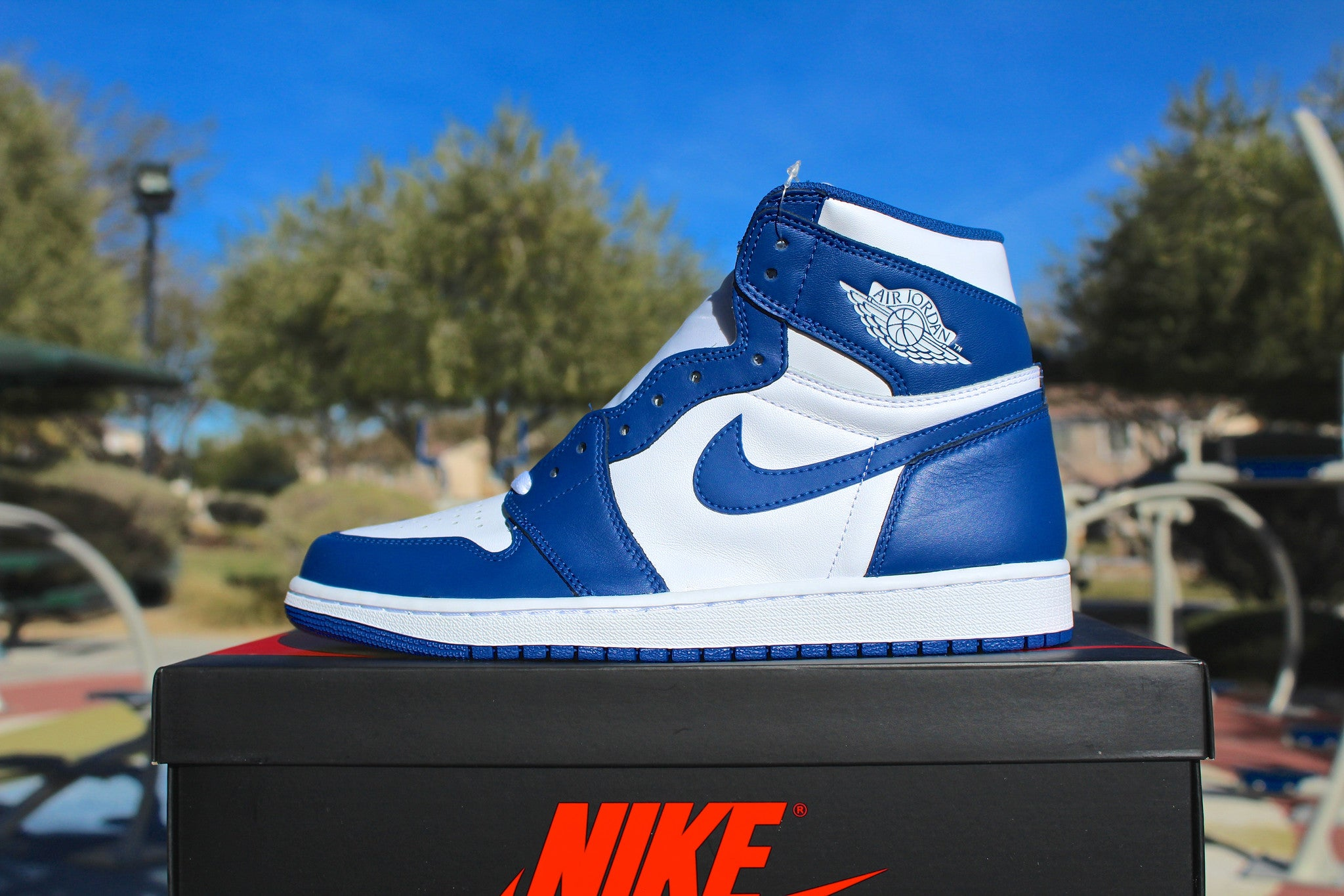 Air Jordan 1 Retro OG High (Storm Blue)