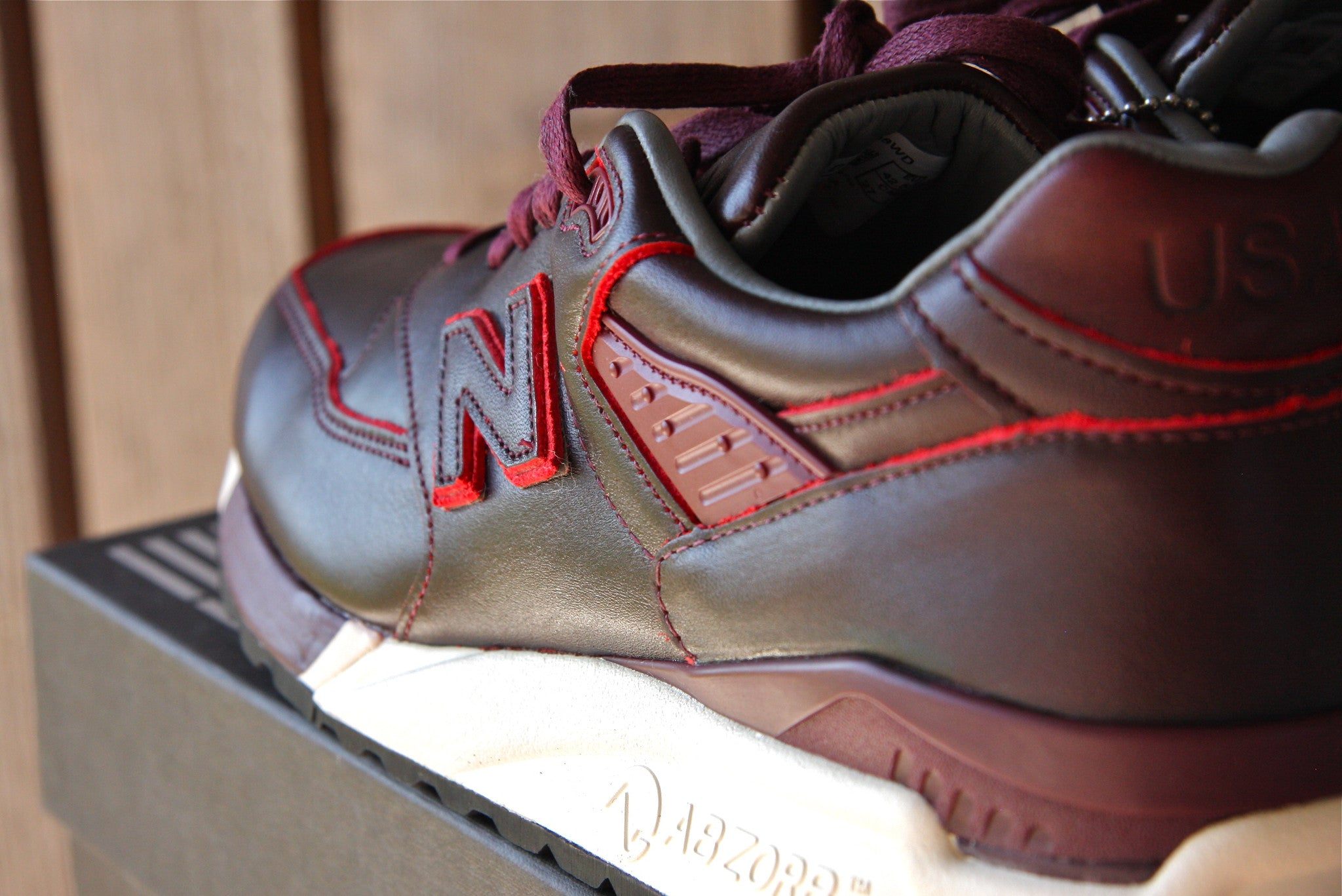 New Balance x Horween M998WD Made In USA