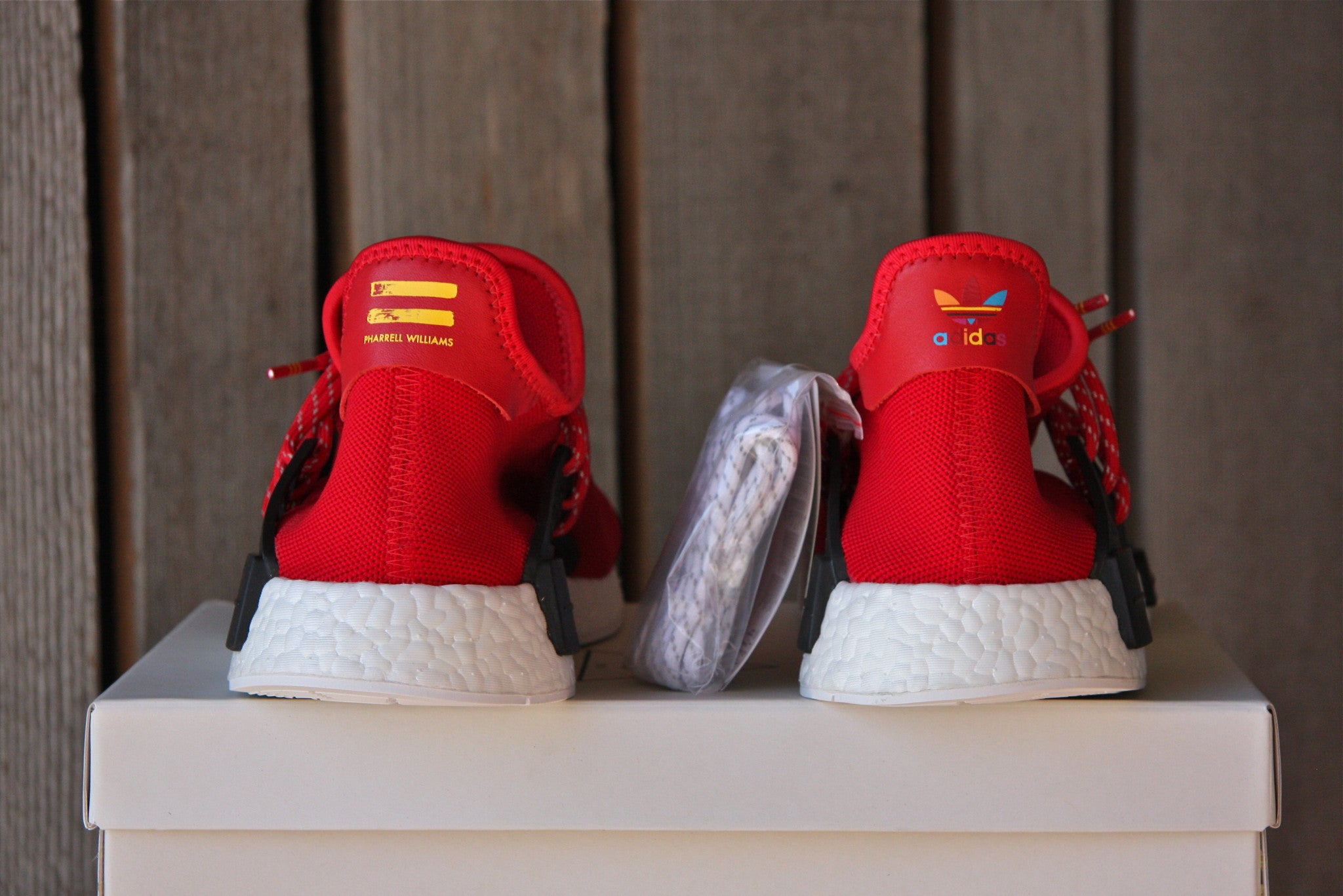 Adidas NMD Human Race (Scarlet Red)