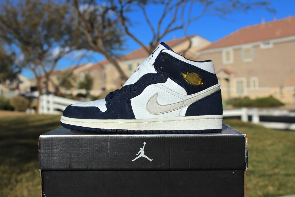 Air Jordan 1 Retro OG High 2001 (Metallic Navy)