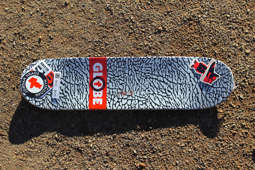 "Jordan Headz x Globe - ""Where Brooklyn At"" Deck"