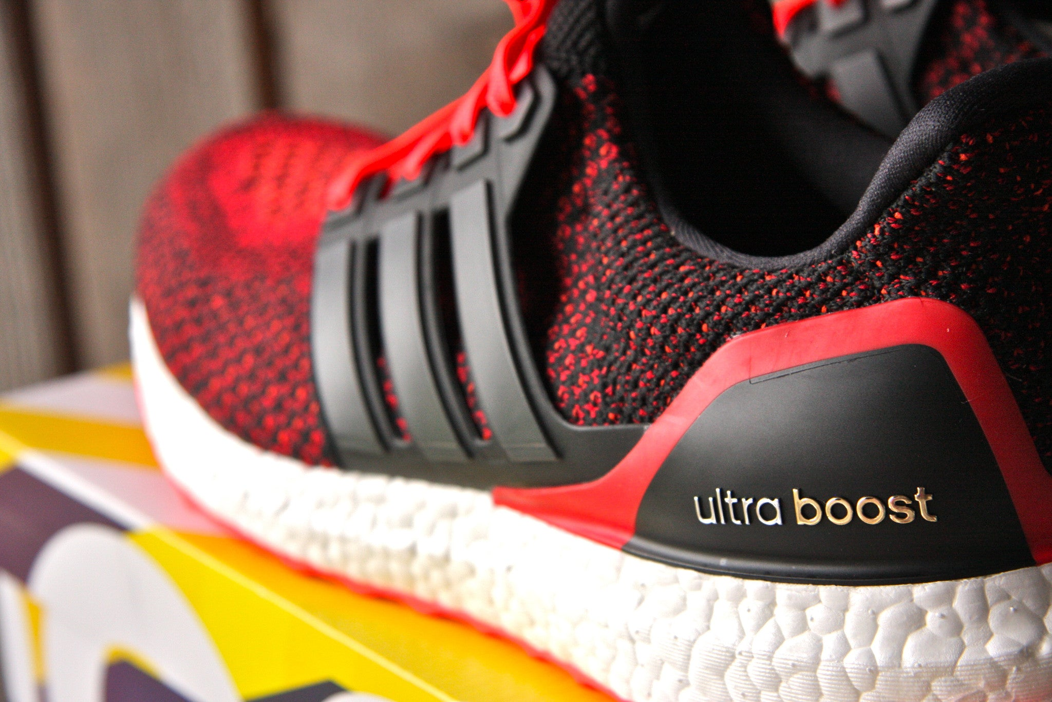 Adidas Ultra Boost 2.0 (Solar Red)
