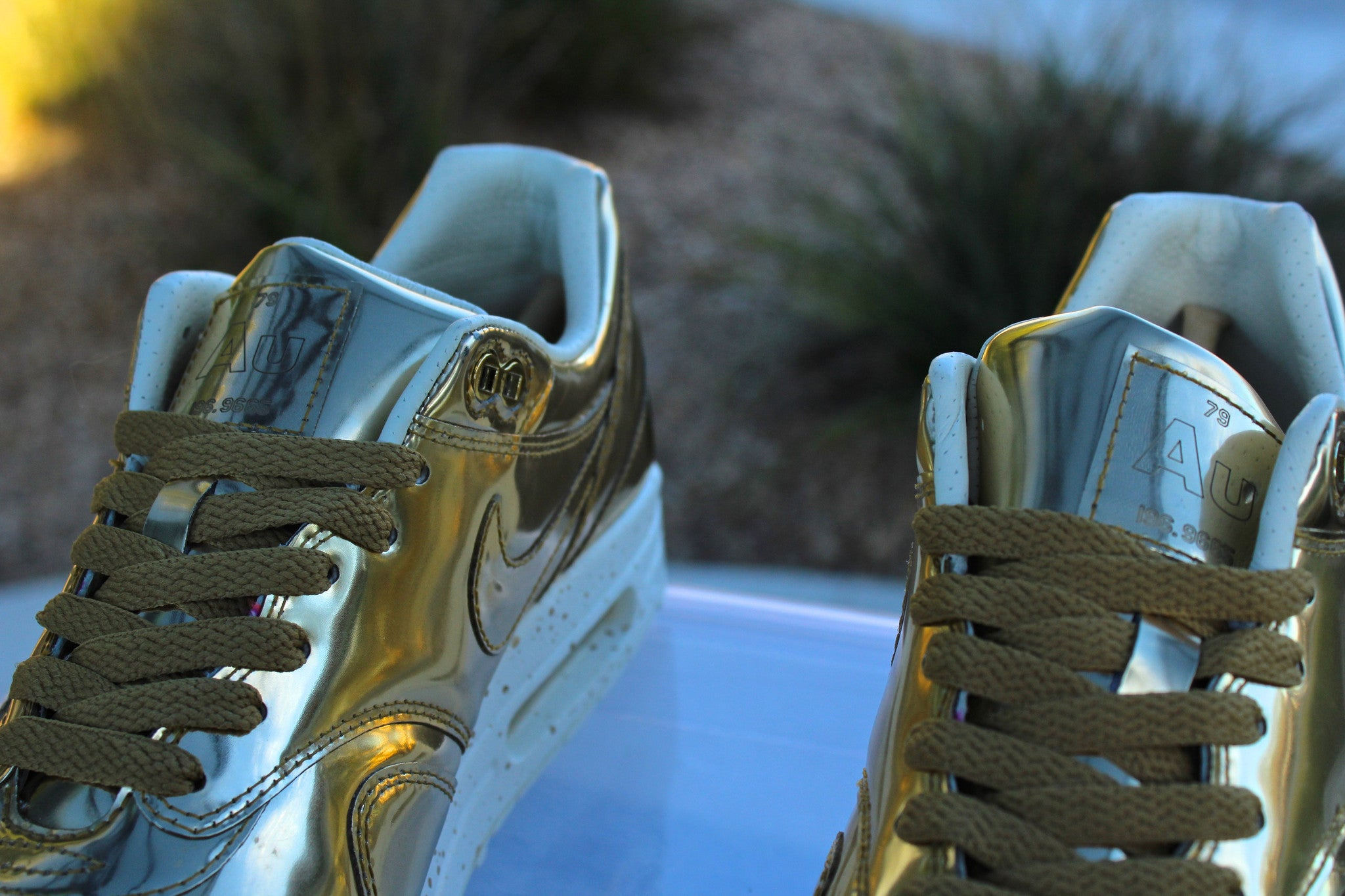 Nike Air Max 1 SP (Liquid Gold)
