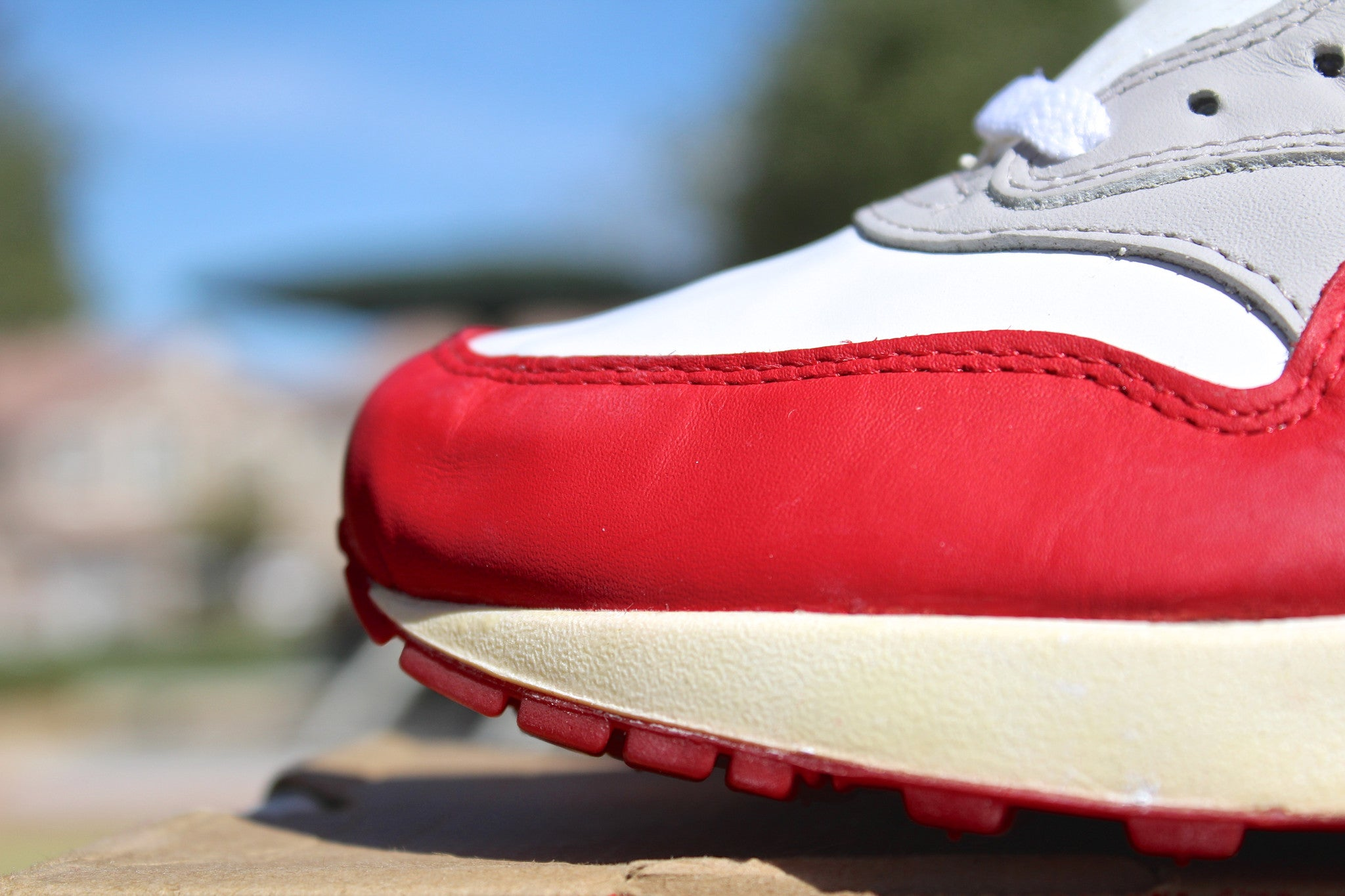 Nike Air Max 1 SC Leather Varsity Red 97'