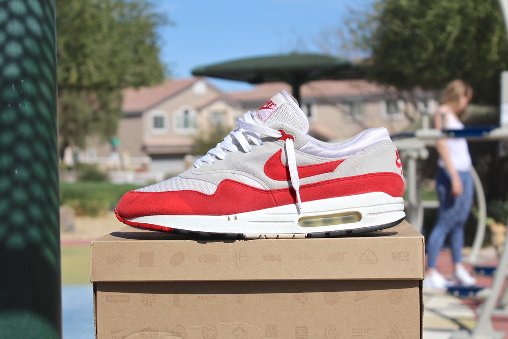 Nike Air Max 1 HOA Varsity Red 05' (Beaters)