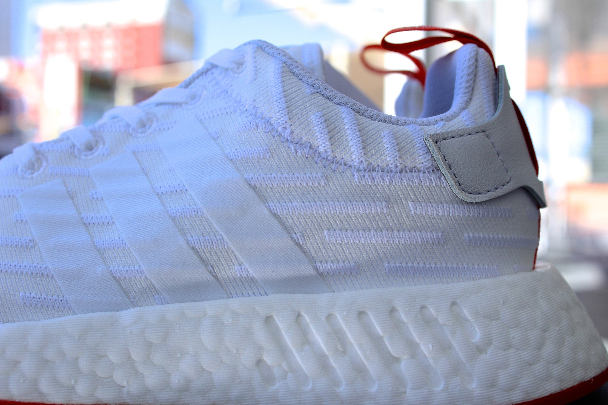 Adidas NMD R2 PK White (Two Tone)