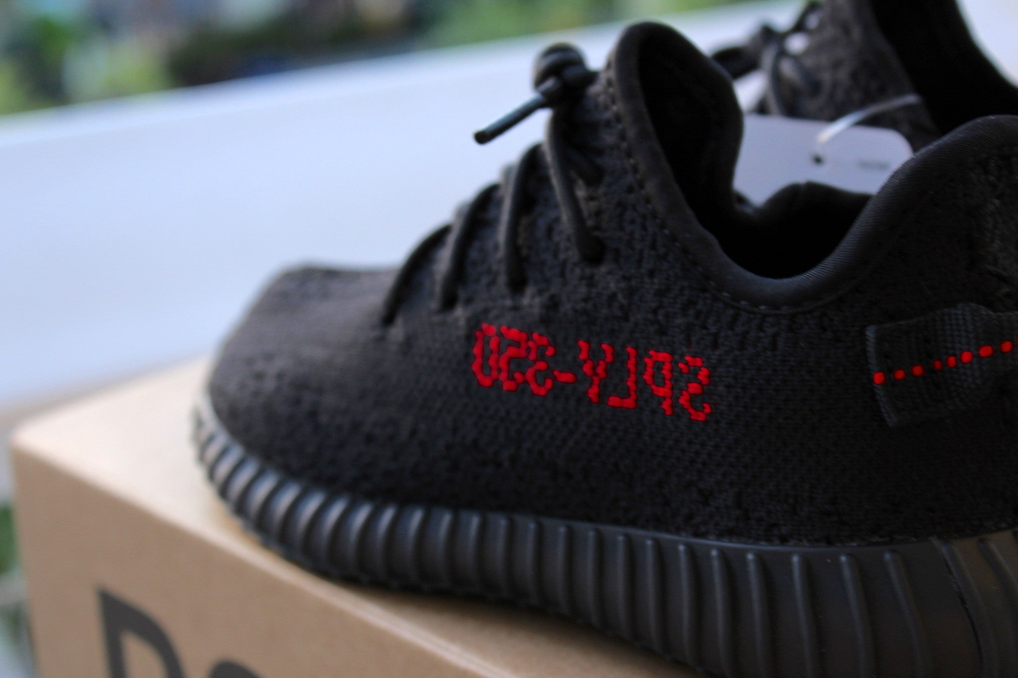 Adidas Infant Yeezy Boost 350 V2 (Bred)
