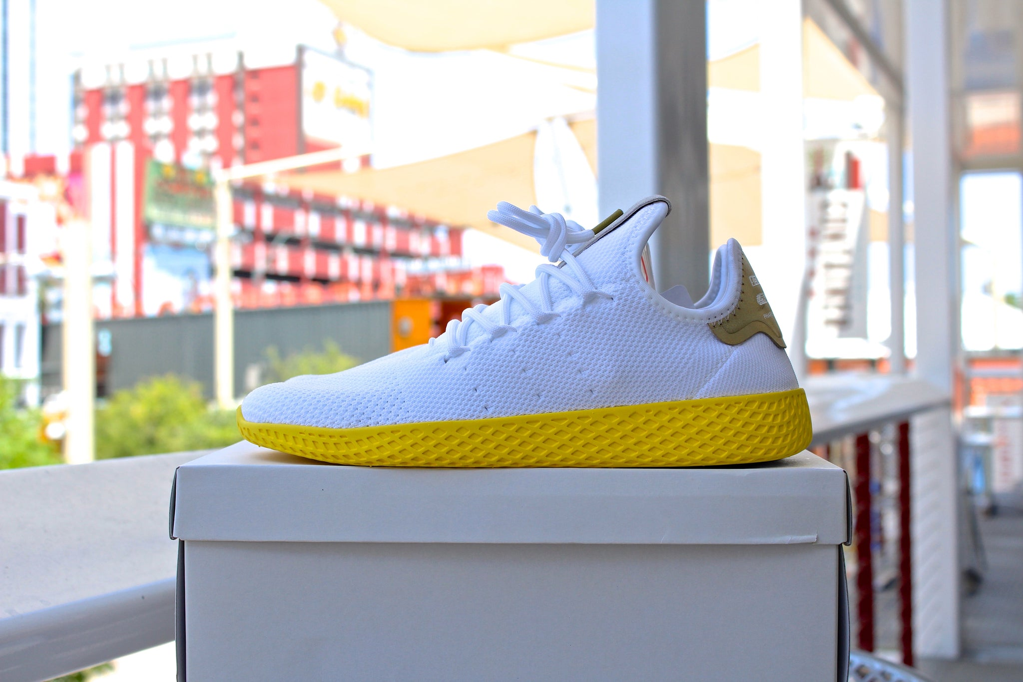 Adidas Tennis HU OG Yellow