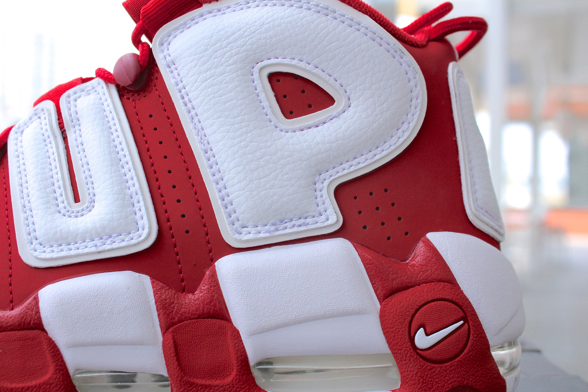 Supreme x Nike Air Uptempo (Red)
