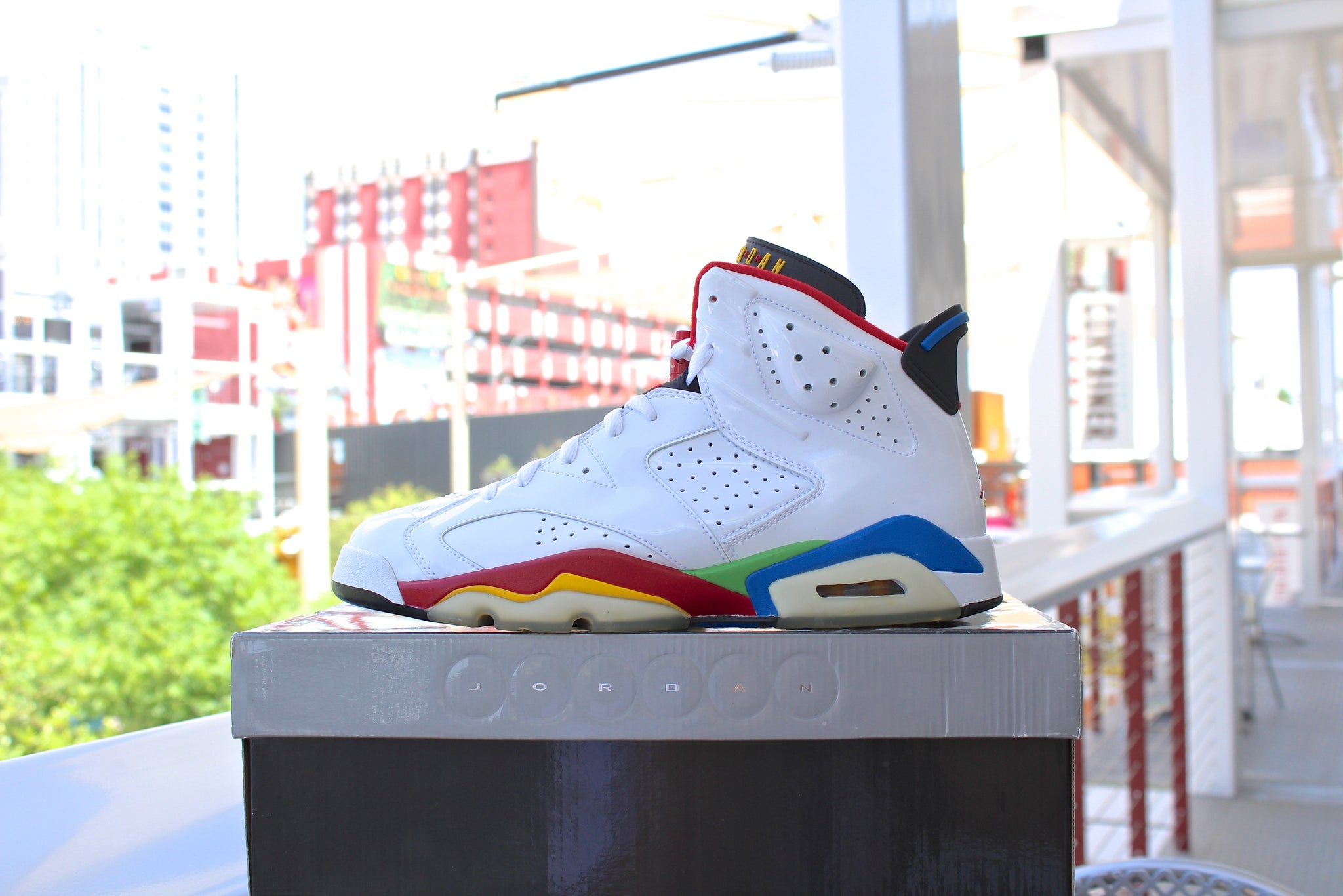 Air Jordan 6 Retro 2008 (Olympic)