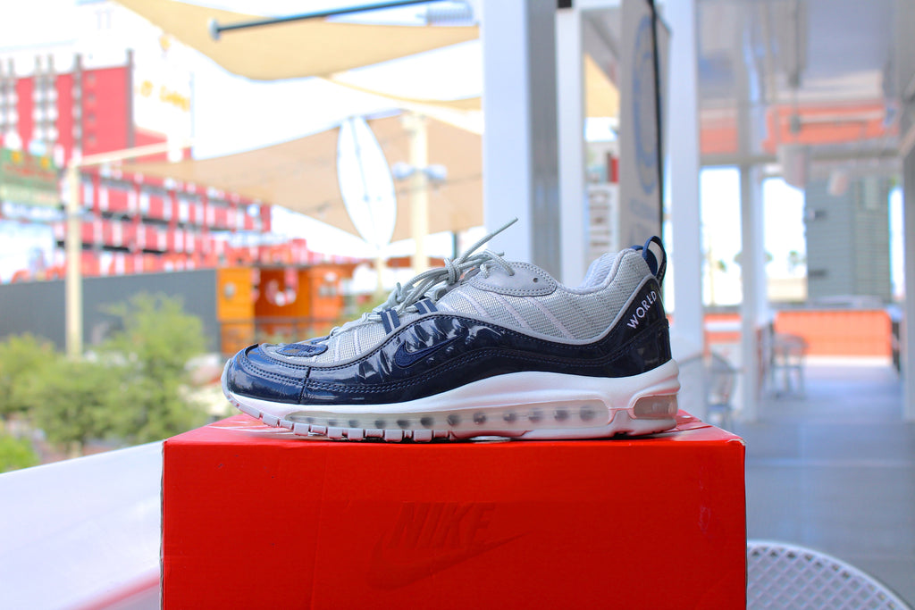Supreme x Nike Air Max 98 (Blue)