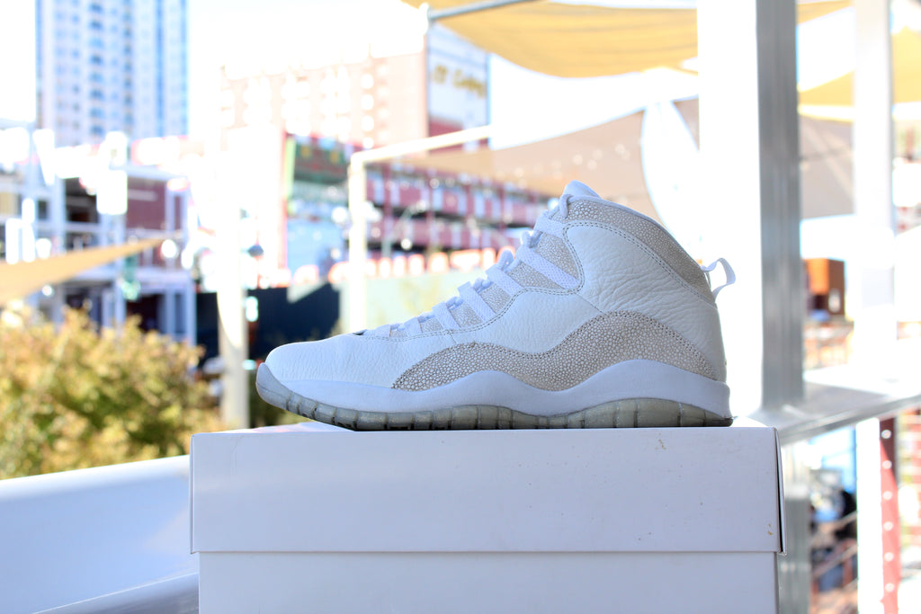 Air Jordan 10 Retro (OVO White)