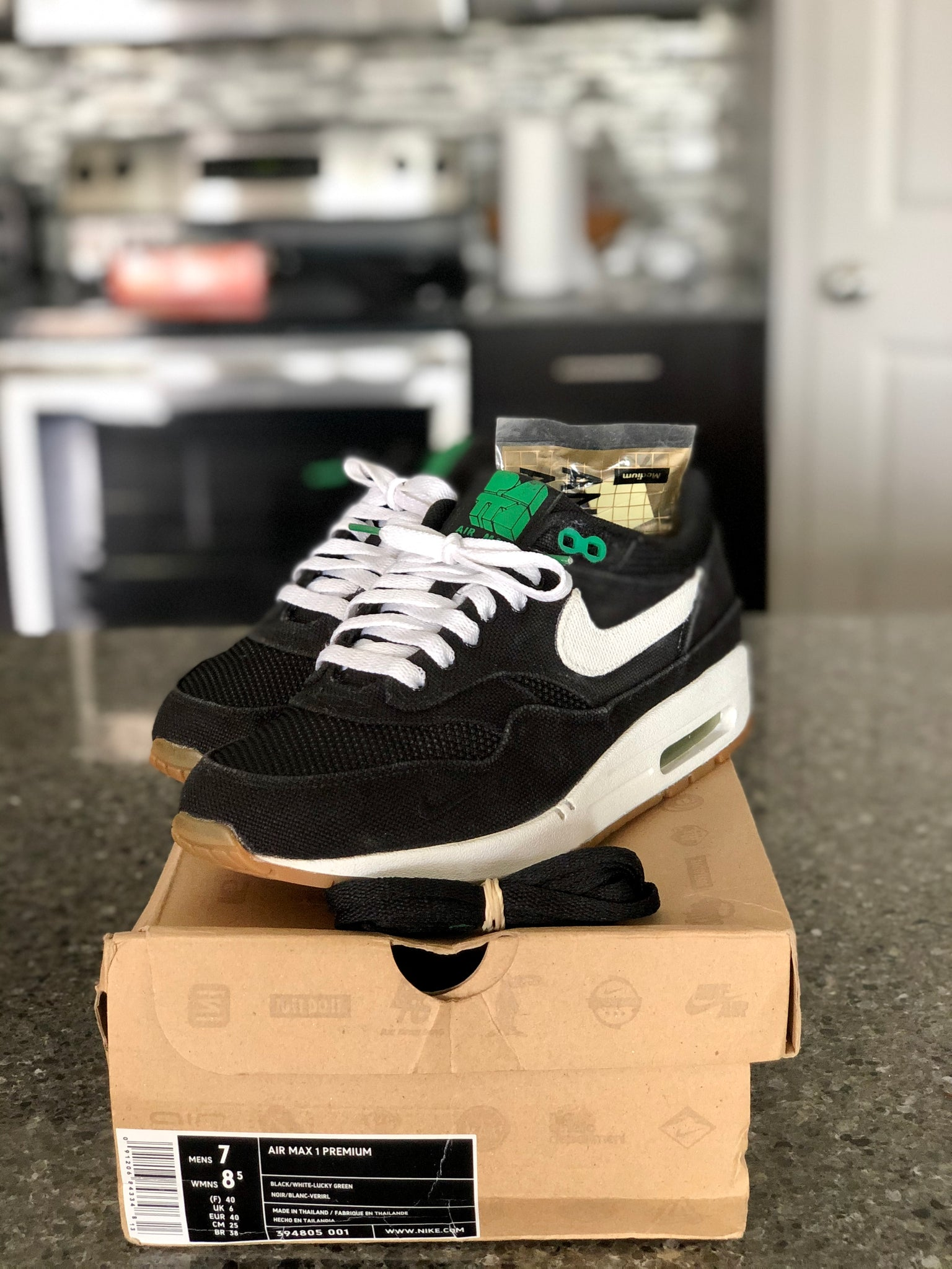 Nike Air Max 1 x Patta Lucky Green