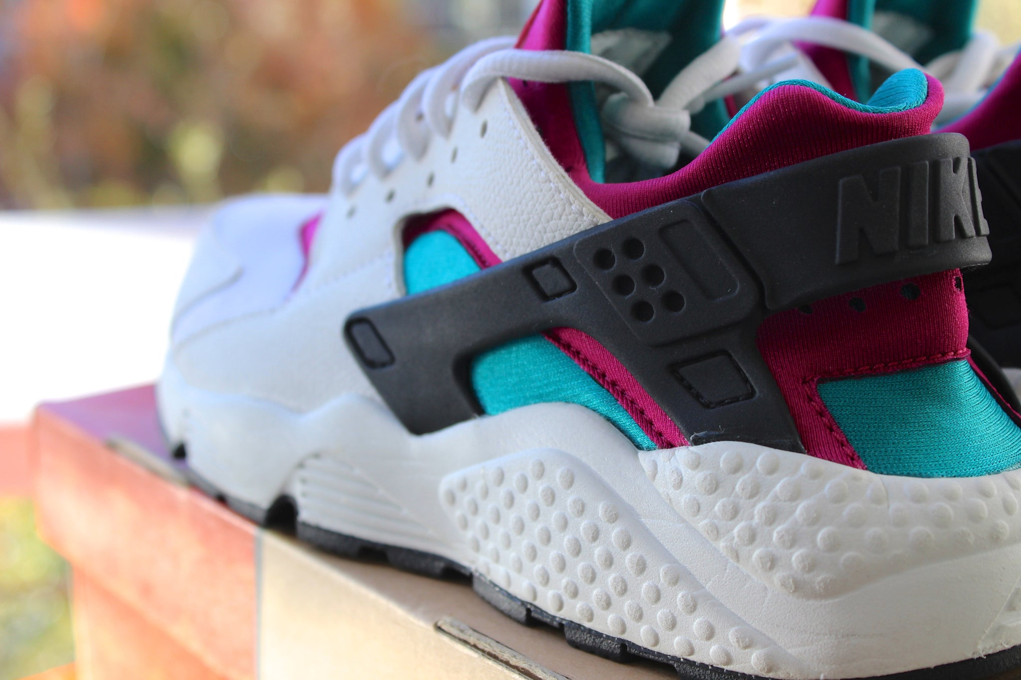 Nike Air Huarache Women's (Dust Blue)