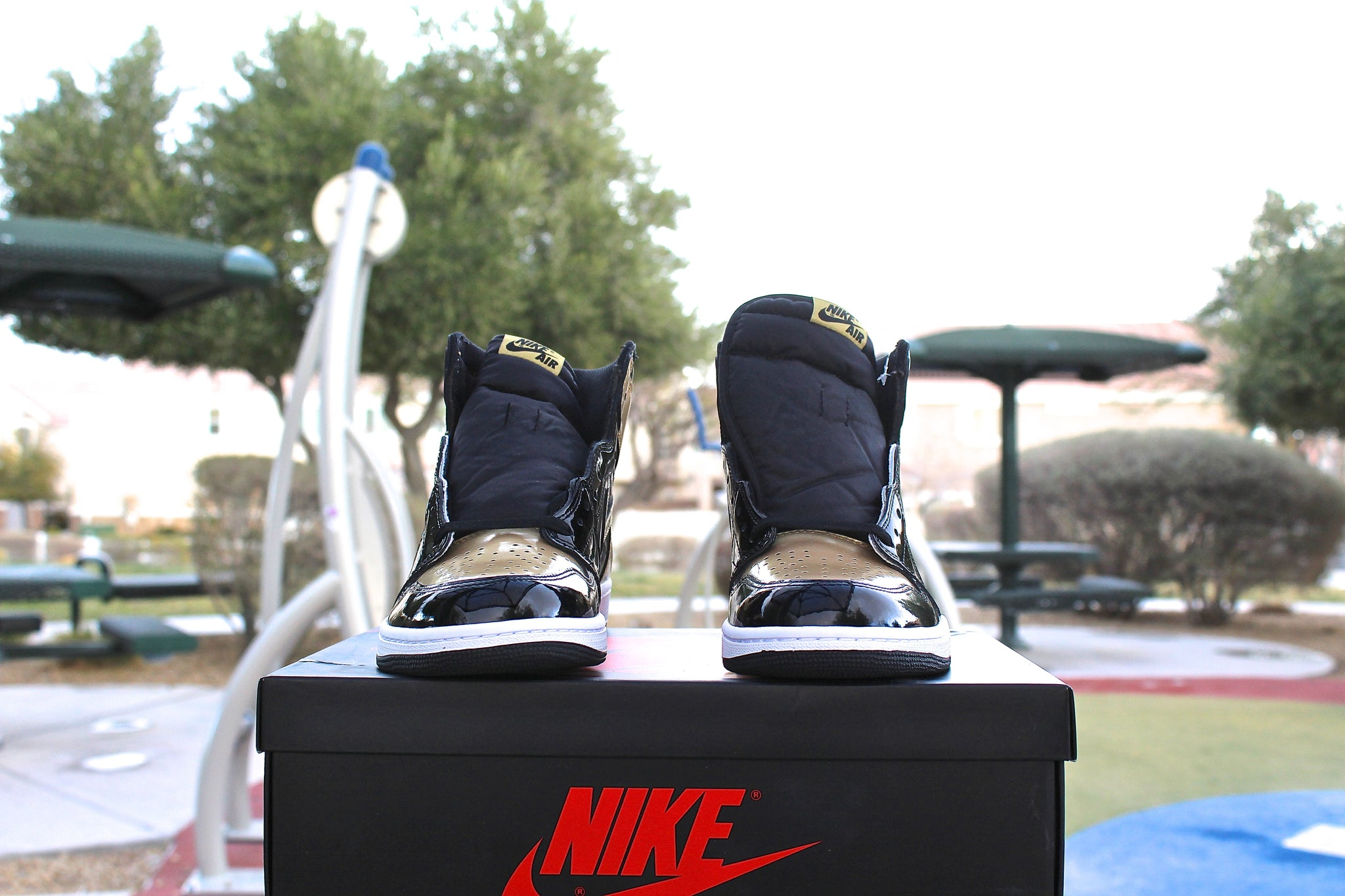 Air Jordan 1 Retro OG High (Gold Toe)