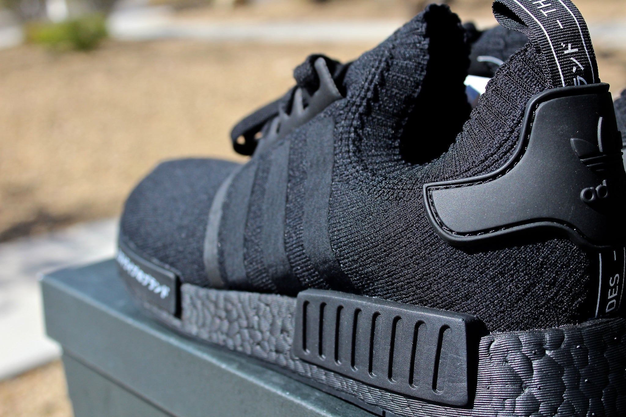 Adidas NMD R1 (Triple Black Japan)