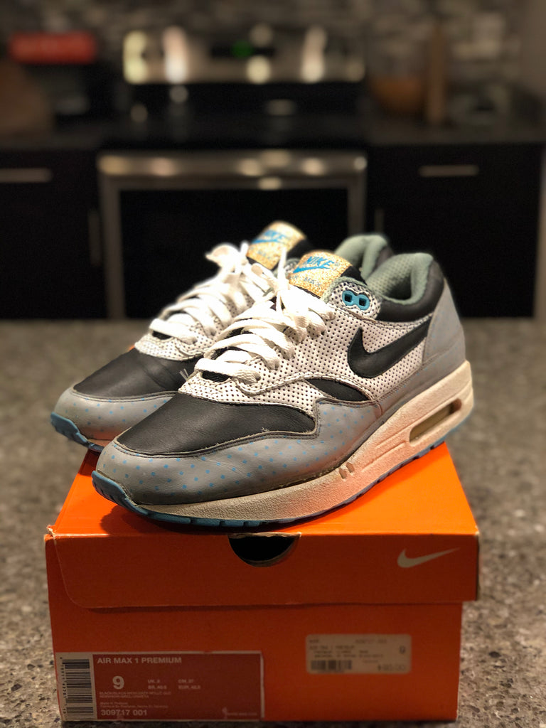 Nike Air Max 1 Polka Dot (Light Blue) 2007