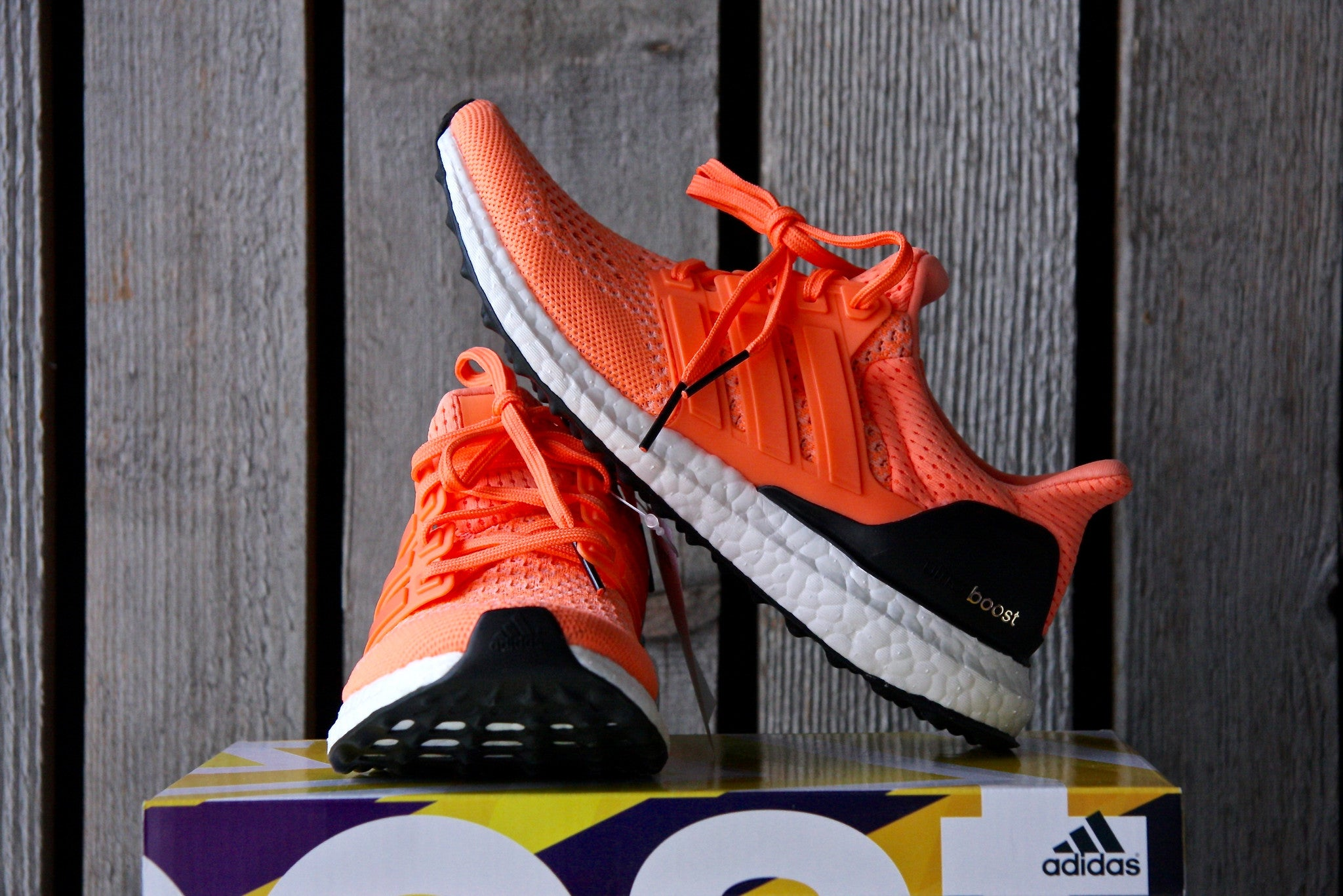 Adidas Ultra Boost Flash Orange