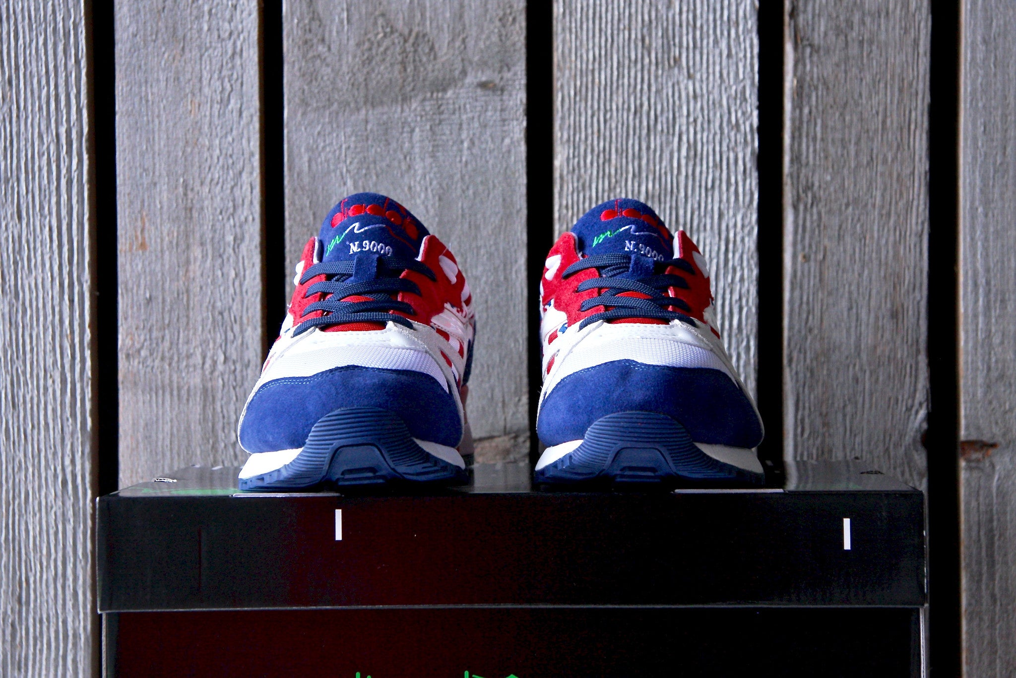 "Diadora N9000 ""Flag Pack"" USA"