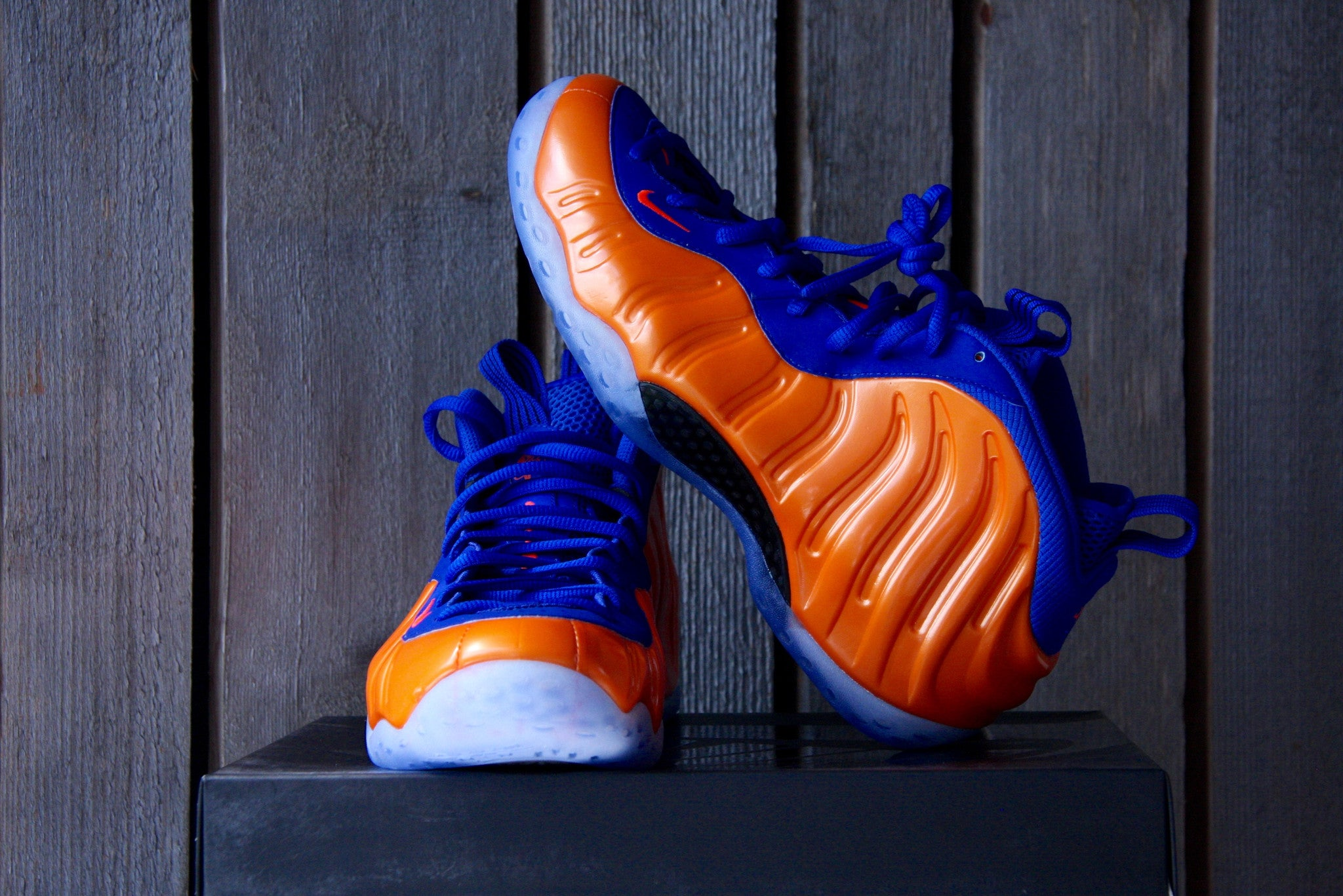 "Nike Foamposite One ""Knicks"""