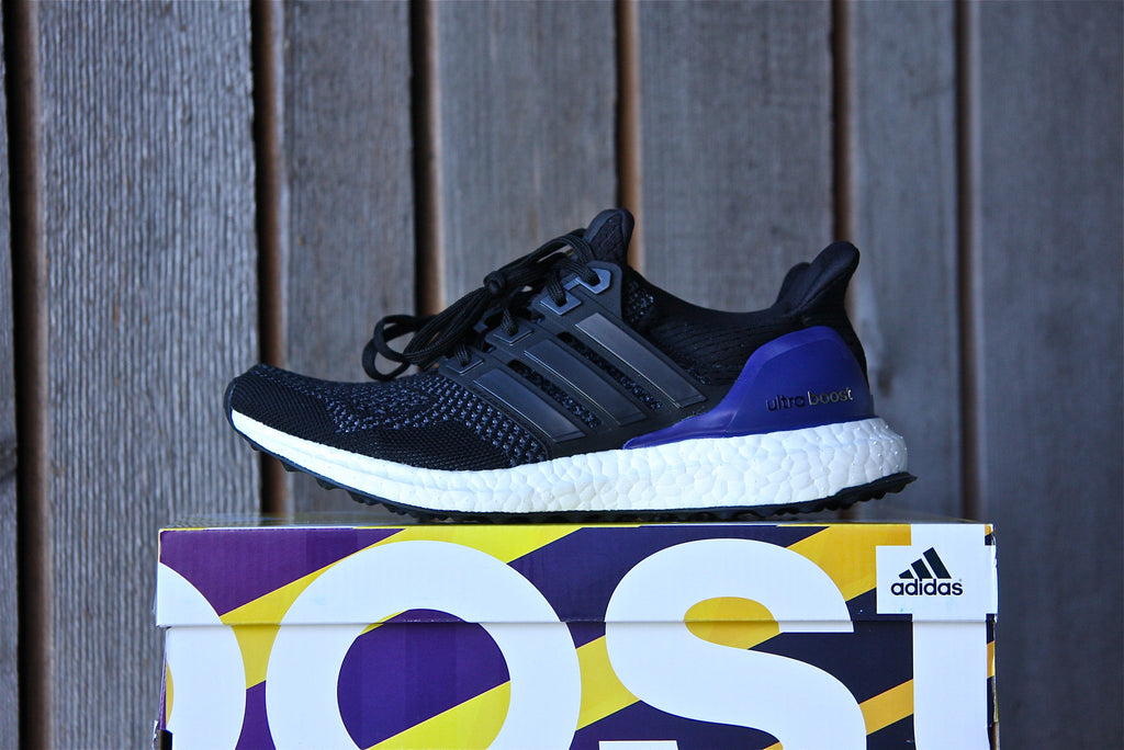 Adidas Ultra Boost 1.0 OG W (Black/Gold/Purple)