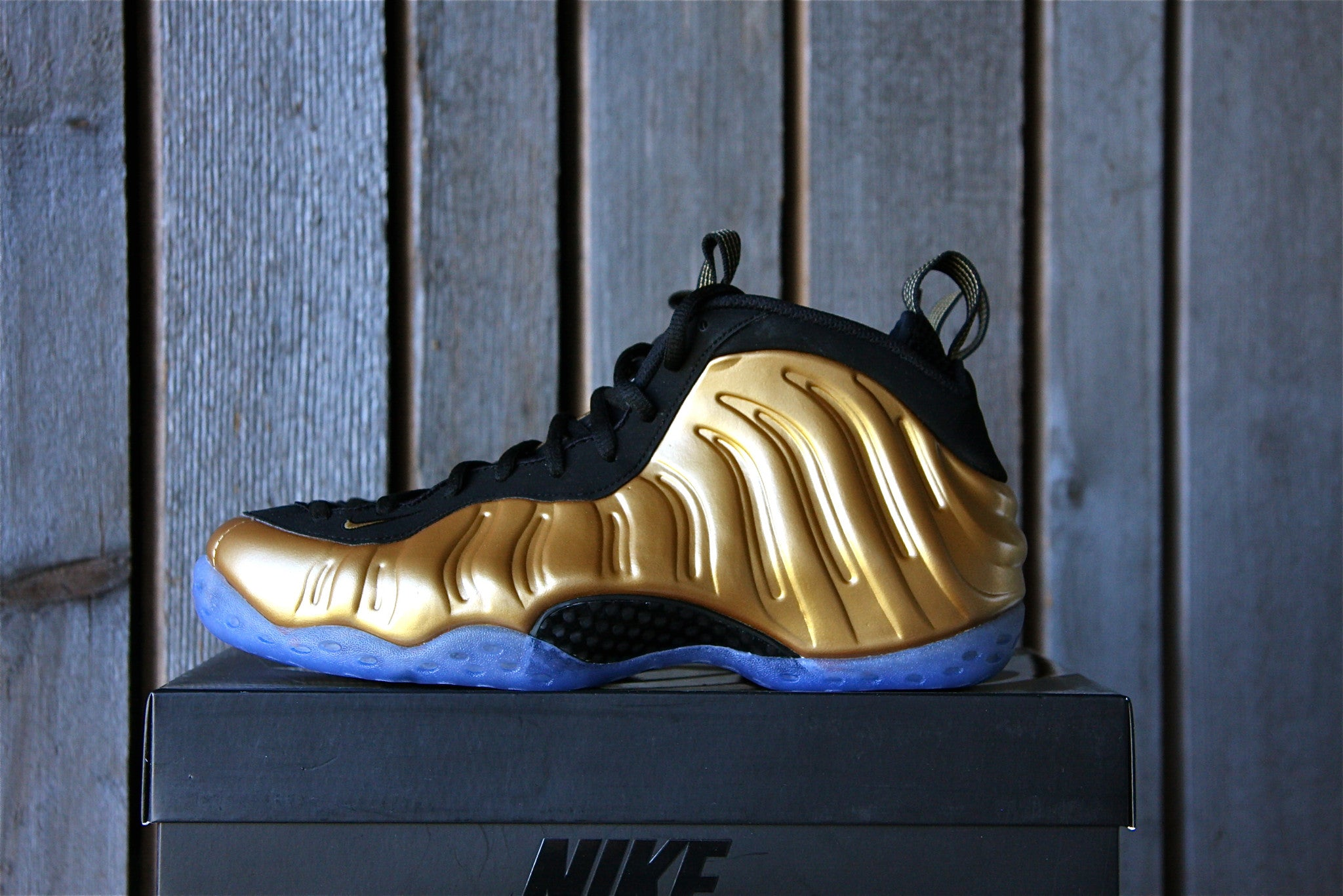 "Nike Foamposite One ""Metallic Gold"""