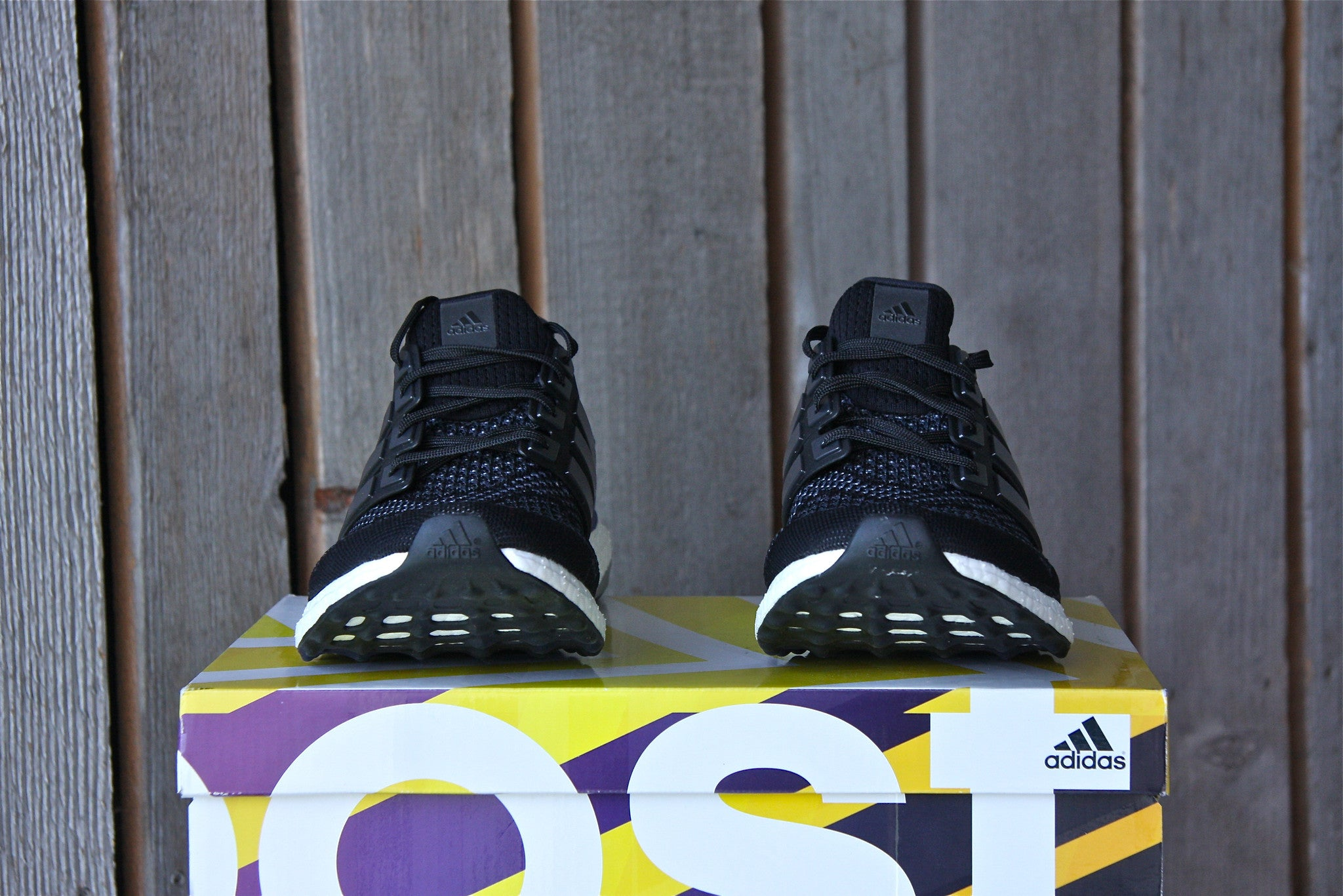 Adidas Ultra Boost 1.0 OG M (Black/Gold/Purple)