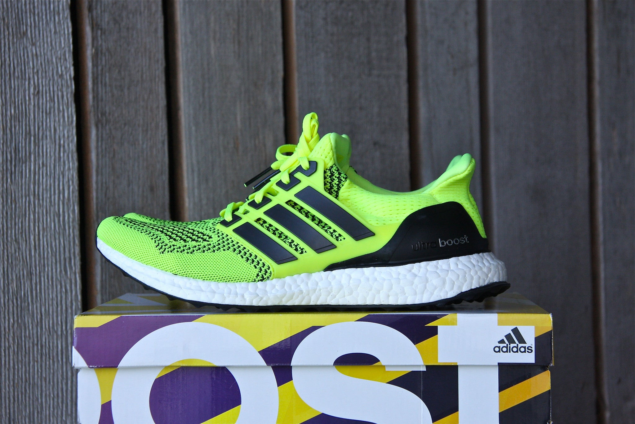 adidas ultra boost yellow