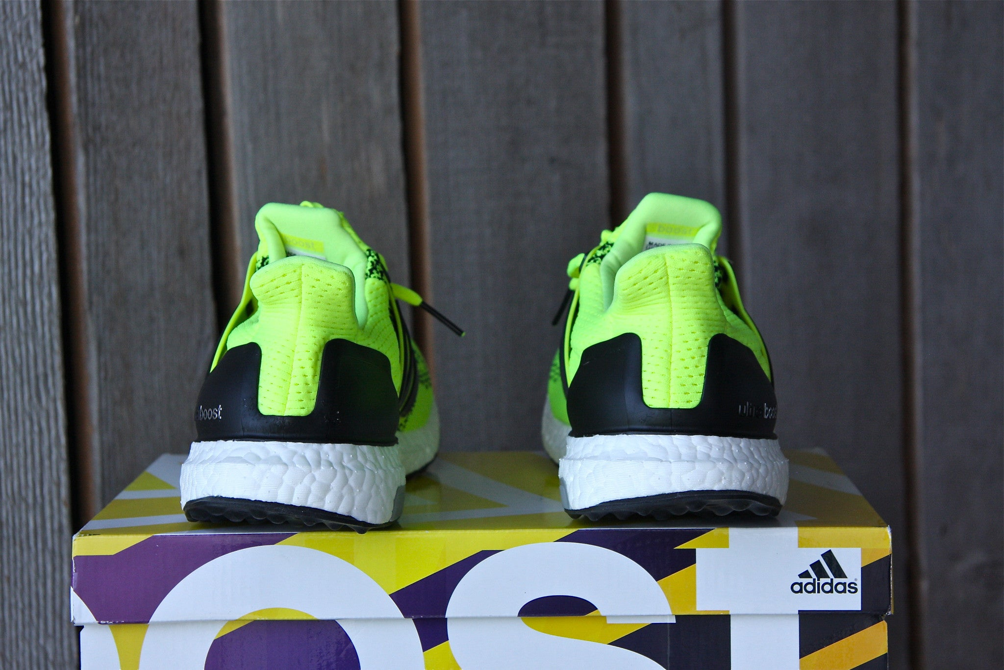 Adidas Ultra Boost 1.0 (Solar Yellow)